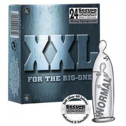 Secura XXL, 24 Condoms, 20...